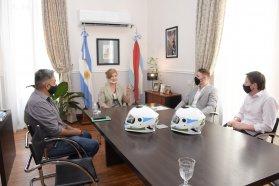La provincia y la municipalidad de Paraná trabajan en conjunto para mejorar las herramientas de control de tránsito