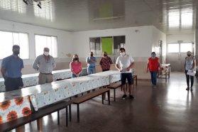 Se realizó una jornada de asistencia para productores queseros en Nogoyá