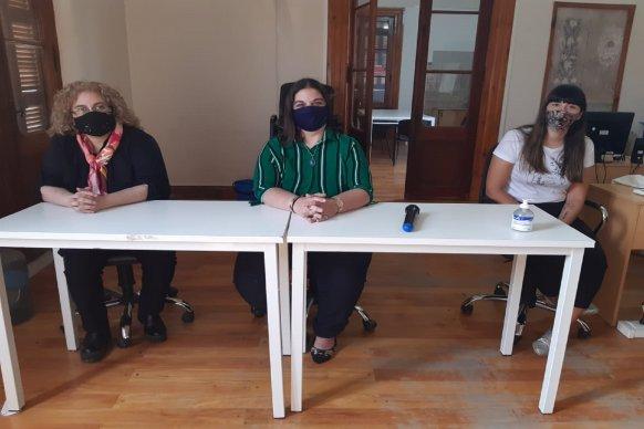 Equipos de Mujeres y Diversidad capacitaron a autoridades municipales de Federal sobre la Ley Micaela