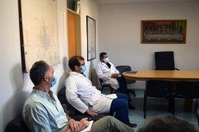 Autoridades de salud provinciales visitaron Concordia