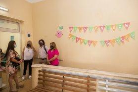 Se inauguró un vacunatorio en la Clínica Escolar de Paraná y comenzará a funcionar este martes