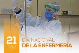 Revalorizaron la labor y compromiso de los enfermeros en este año atípico de pandemia