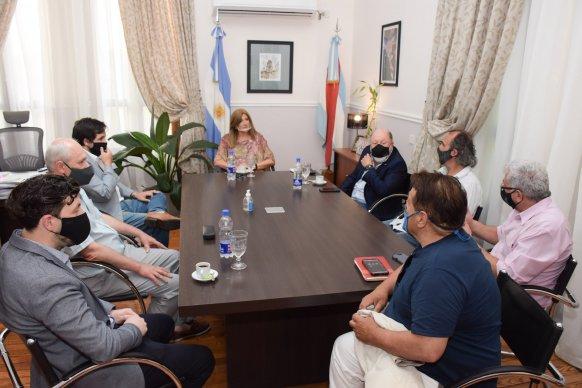 Reunión con el Equipo Argentino de Antropología Forense por la búsqueda de los restos de Pancho Ramírez