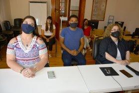 Autoridades y agentes municipales de Aldea María Luisa y El Pingo se capacitaron en la Ley Micaela