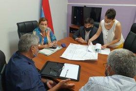 Coordinan tareas viales para la zona de Seguí