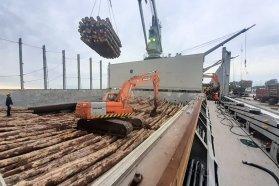 Se completó otra exportación desde los puertos entrerrianos y se esperan dos buques más en diciembre