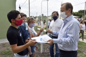 Se inauguran 63 viviendas en ocho localidades entrerrianas