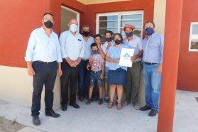 Familias de tres localidades entrerrianas cumplieron el sueño de la casa propia