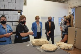 La provincia recibió kits sanitarios de parte de una Cooperativa de Trabajo
