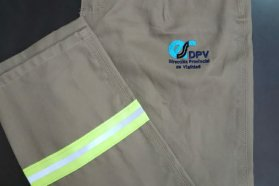Vialidad incorporó vestimenta de trabajo para sus empleados de campaña