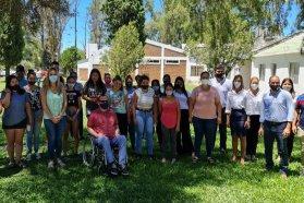 La provincia acompañó la creación del área Joven de San Gustavo