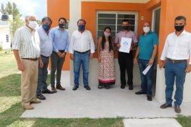 Familias de Aldea San Antonio cumplieron el sueño de la casa propia