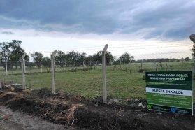 La provincia puso en valor el cementerio de los negros en Ingeniero Sajaroff