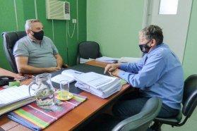 Vialidad y el municipio de Rosario del Tala coordinan tareas conjuntas