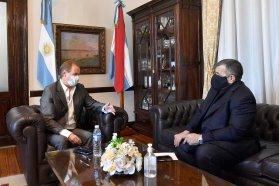 Bordet repasó la agenda 2021 con el diputado José Cáceres