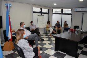 La ministra de Salud, Sonia Velázquez, se reunió con la Sociedad Entrerriana de Terapia Intensiva