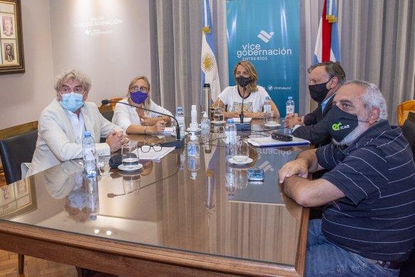 La provincia reafirmó el compromiso con el deporte entrerriano en situación de pandemia