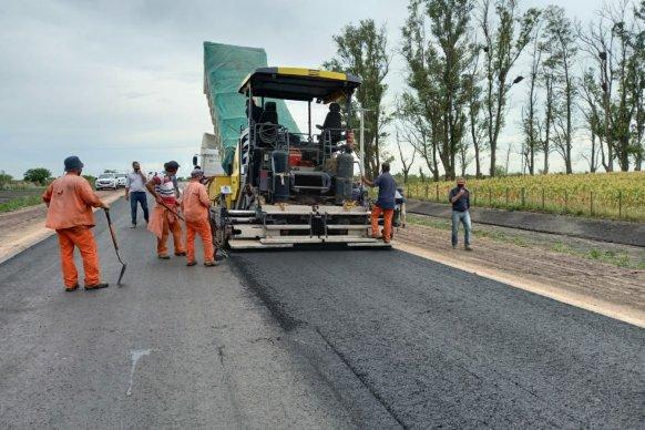 Destacado avance de la ruta 51 en el departamento Gualeguaychú