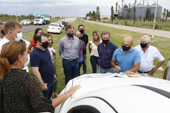 Analizan mejoras viales para el Acceso Norte a la ciudad  de Gualeguaychú