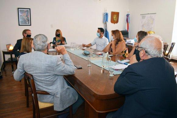 Salud y Producción se reunieron con la Asociación de Clínicas y Sanatorios de Entre Ríos