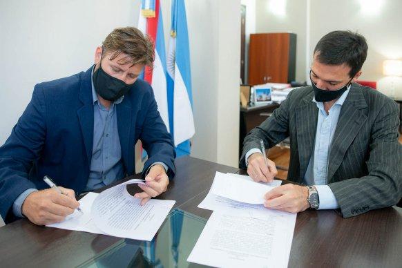El Becario acordó con la Secretaría de la Gobernación el apoyo a estudiantes entrerrianos para realizar pasantías