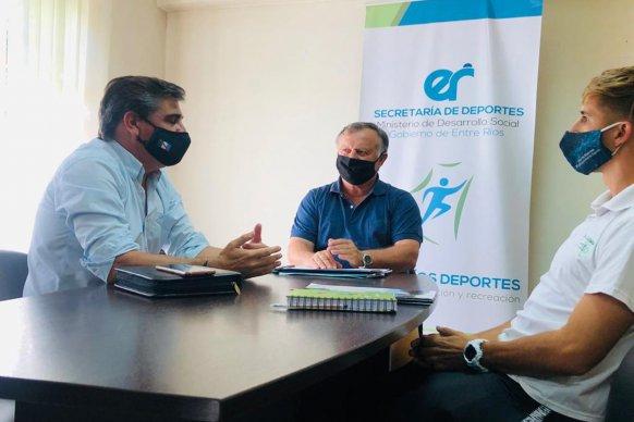 La provincia acompañará el torneo Nacional de Beach Voley en Cerrito