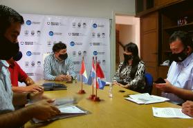 Se realizó el primer encuentro de la Región Centro con representantes del Foro de Trabajadores de Entre Ríos
