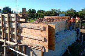 Importante avance en la construcción del puente sobre el arroyo García en el departamento Gualeguaychú