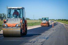 Más de 82 por ciento de avance en la pavimentación de la Ruta 51
