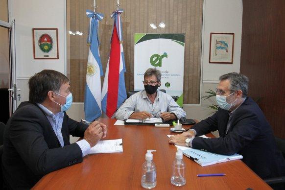 Se coordinan obras y gestiones para el departamento San Salvador