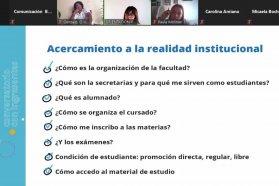El Becario acompaña a ingresantes del nivel educativo superior con conversatorios virtuales de orientación vocacional