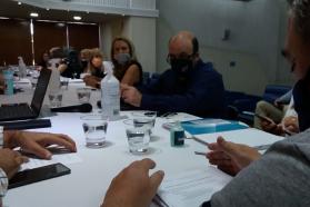La provincia continúa el diálogo con representantes de los docentes