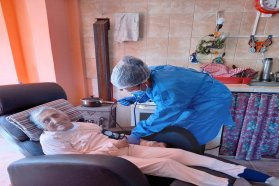 Comenzó el operativo de vacunación a mayores de 70 en Islas del Ibicuy