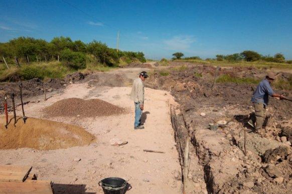 Trabajan en la reconstrucción de trazas productivas del departamento Villaguay