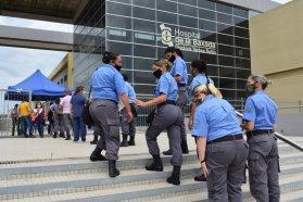 Se completó la vacunación a personal del Servicio Penitenciario de Entre Ríos