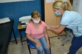 Se inició la vacunación a mayores de 70 años en el departamento Concordia