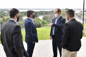 Proyectan obras en Oro Verde y en Cerrito con aportes del gobierno provincial
