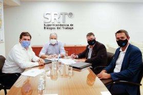 La provincia suscribió un convenio con la SRT para prevenir siniestros laborales