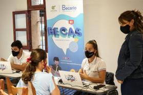 El Instituto Becario llegó con sus programas a Valle María