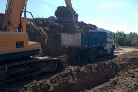Continúa la ejecución de los desagües pluviales en la cuenca Ezpeleta de Victoria