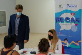 El Instituto Becario continúa recorriendo localidades entrerrianas con su atención móvil
