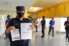 En Entre Ríos ya son más de 7.000 los efectivos de Seguridad vacunados contra el Covid-19