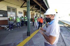La empresa nacional Trenes Argentinos inspecciona el trayecto de Paraná a La Picada