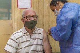 Vacunación Covid: se incorporó a los mayores de 60 años a la campaña y se sigue inoculando a la población objetivo