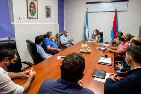 Planifican trabajos de conservación sobre la red secundaria y terciaria del departamento Uruguay