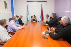 Proyectan obras viales en distintos municipios del departamento Uruguay