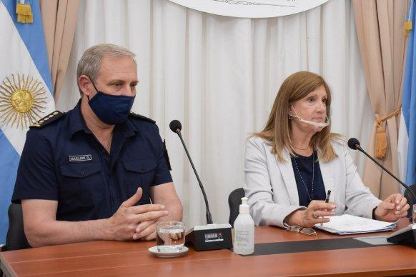Romero y Maslein reconocieron el accionar de la Policía en el importante operativo antidrogas del departamento Feliciano