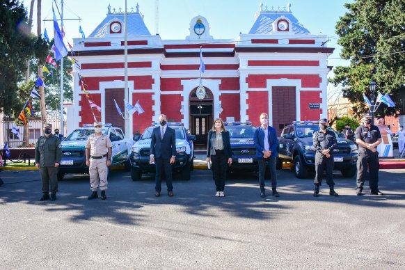 La ministra Romero valoró la importancia de trabajar en conjunto con las Fuerzas Federales