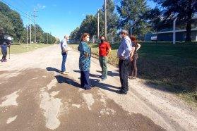 Vialidad firmó un convenio con la comuna de General Racedo para realizar obras dentro de ese ejido