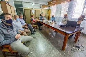 Planifican obras de conectividad vial para Urdinarrain